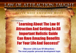 LawOfAttractionTaught.com Membership Pays 60% On Flat Fee Or 3 Recurring Commissions On The 3 Month's Pay Plan