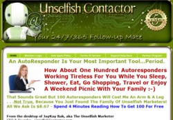 UnselfishContactor.com Membership Pays 51% Recurring Affiliate Commissions