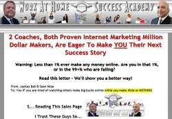 WorkAtHomeSuccessAcademy.com COACHING Membership Pays 51% Recurring Affiliate Commissions