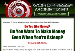 WPMonetizer.com Wordpress Plugin Pays Out 50% Affiliate Commission